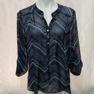 About a Girl blouse size Large